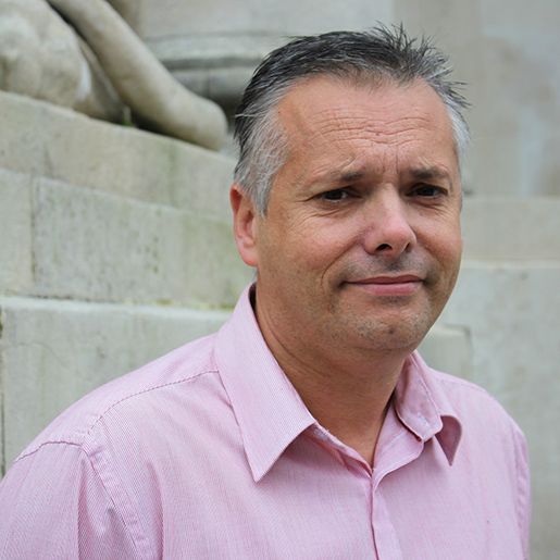 Nick Coles, Head of Technical Services for the Portsmouth Cultural Trust.