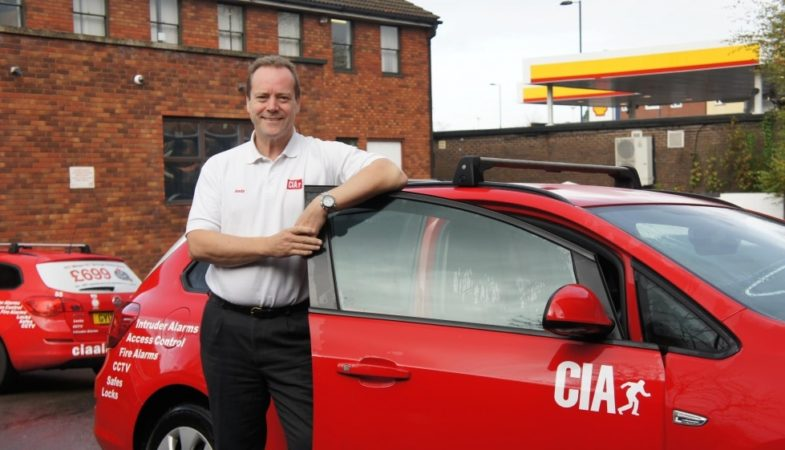 Andy Jenkins with CIA Van