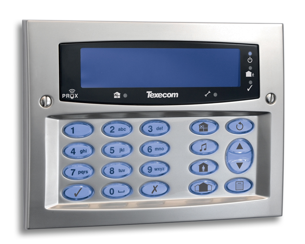 The Texecom Premier Elite Range Of Intruder Alarm Panels